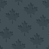 Dark gray maple leaves wallpaper. Stock Photos