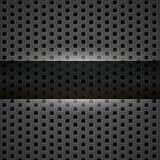Dark gray metal background Stock Photography