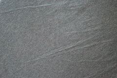 Dark gray natural fabric texture for the background. Royalty Free Stock Photo