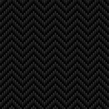 Dark Gray Neutral Chevron seamless pattern. Stock Photo