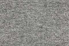 Dark gray rough fabric pattern, seamless texture Royalty Free Stock Photography
