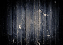 Dark gray scratched wooden wall, fence, table or Royalty Free Stock Image