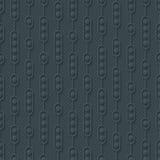 Dark gray seamless pattern. Abstract 3d tileable wallpaper backg Stock Photos