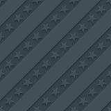 Dark gray stars and stripes wallpaper. Royalty Free Stock Photos