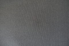 Dark gray unprinted suiting fabric. From above Stock Images