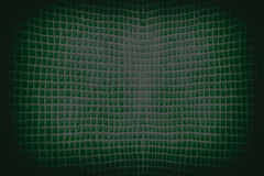 Dark  green abstract checkered string wave background Stock Photos