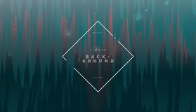 Dark green abstract sharpen dynamic background, can be used for banner, blank, wallpaper and brochure template stock illustration