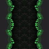 Dark with green Stock Photo