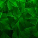 Dark green background, beautiful mosaic Royalty Free Stock Photography