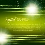 Dark green background with light effect. Vector Stock Images