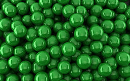 Dark green balls background (3d render). The Dark green balls background (3d render Stock Photos