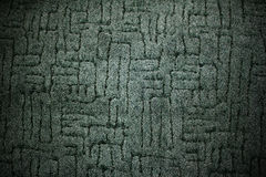 Dark green carpet fabric pattern background Stock Photo