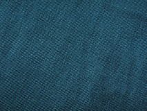 Dark green denim. Fabric for your copy - lots of details Royalty Free Stock Photography