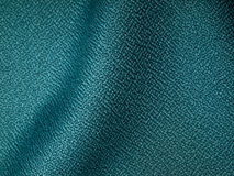 Dark green fabric sample Royalty Free Stock Photo