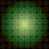 Dark green vector geometric background Stock Photography