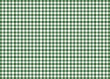 Dark Green Gingham Pattern Background Royalty Free Stock Images