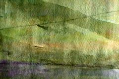 Dark green grunge background Stock Photos