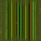 Dark green grunge metallic stripes Stock Image