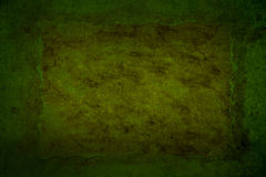 Dark green grungy background Stock Photo