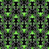 Dark Leafs Seamless Texture Wallpaper. Dark green leaf night garden spring wallpaper pattern. Seamless texture background Royalty Free Stock Photo