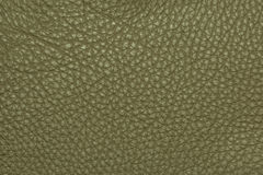 Dark green leather grained texture background pattern Royalty Free Stock Photos