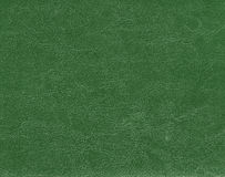 Dark green leather texture. stock photography