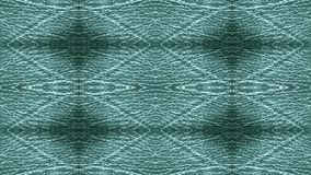 Dark green leather upholstery. Graphic pattern. Stock Photos