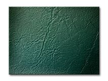 Dark green Leatherette Background Stock Photo