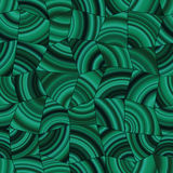 Dark green Malachite tileable pattern. Royalty Free Stock Photography