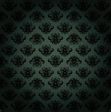 Dark green pattern Royalty Free Stock Photography