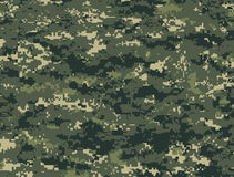 Dark green pixels camouflage Royalty Free Stock Photography