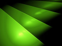Dark green plates. Abstract 3D background in the form of a green plates Stock Images