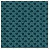 Seamless pattern Dark green polka dots  Royalty Free Stock Photography