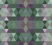 Dark green and purple vector polygon abstract backdrop. Glitter abstract illustration with an elegant triangles. Brand new design for your business royalty free illustration