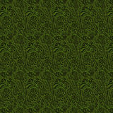 Dark green raised texture Stock Image