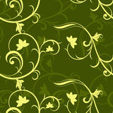 Dark green seamless pattern. Royalty Free Stock Photo
