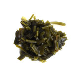 Dark Green Seaweed Salad Top View Royalty Free Stock Image