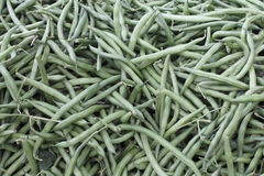 Dark Green String Beans Royalty Free Stock Photography