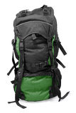 Dark green tourist backpack Royalty Free Stock Photo