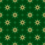 Dark green vector texture with golden elements Royalty Free Stock Photos