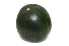 Dark green watermelon Stock Photo