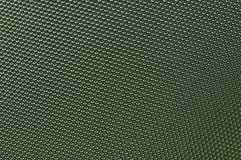 Dark green weaving fabric Royalty Free Stock Photography