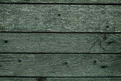Dark green wood texture Royalty Free Stock Image