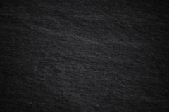 Dark grey black slate background or natural stone. Texture stock photo