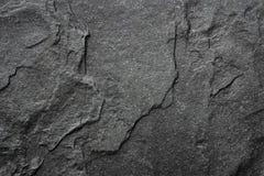 Dark grey black slate background or texture. Stock Photos