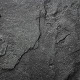 Dark grey black slate background or texture. Stock Image