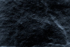 Dark grey black slate background or texture, Detailed of real genuine stone from nature. Stock Photos
