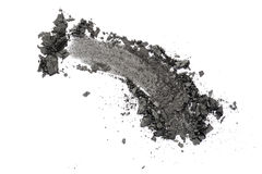 Dark grey eyeshadow Royalty Free Stock Image