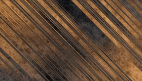 Wooden planks texture. Dark grey and gold Wooden planks texture. Abstract background. 2d illustration Stock Images