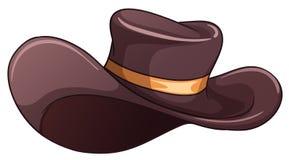 A dark grey hat Royalty Free Stock Photos